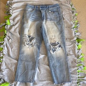 American Eagle Super Sky High Jeggings